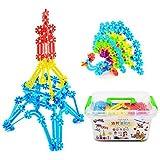 YEWJ Tabletas de copo de nieve para niños, bloques de construcción para tapones de lucha para jardín de infantes, juguetes educativos para niños de educación temprana juguete ( Color : 500Sets )