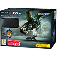 Nintendo 3DS - Consola XL, Color Negro (Incluye Monster Hunter 3)