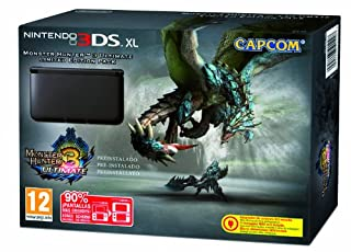 Nintendo 3DS - Consola XL, Color Negro (Incluye Monster Hunter 3) (B00BMQQLZE) | Amazon price tracker / tracking, Amazon price history charts, Amazon price watches, Amazon price drop alerts