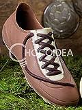 Choco Bota de Fútbol/Choco Football Shoe, 100% artesanal, hecha a mano con chocolate DE LECHE+BLANCO+NEGRO fino belga Barry Callebaut (108g) 14,3 x 4,7 x 5,5 cm