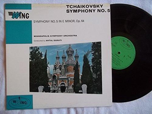 WL 1009 Tchaikovsky Symphony 5 Minneapolis SO Antal Dorati vinyl LP