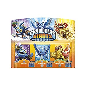 Skylanders: Giants – Triple Pack A: Pop Fizz, Trigger Happy, Whirlwind