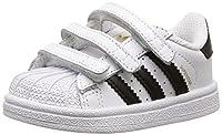 adidas Originals 'Superstar Foundation' sneakers  Modello: B23637 SUPERSTAR FOUNDATION  Le scarpe per bambini dovrebbero essere di circa 1,5 cm di lunghezza superiore ai piedi del bambino.  Dimensioni interne:  Mis. 27 = 16,1 centimetri