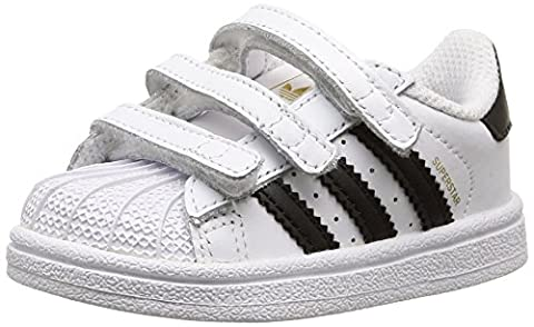 adidas Superstar, Chaussures Bébé marche mixte bébé, Blanc (Ftwr White/Core