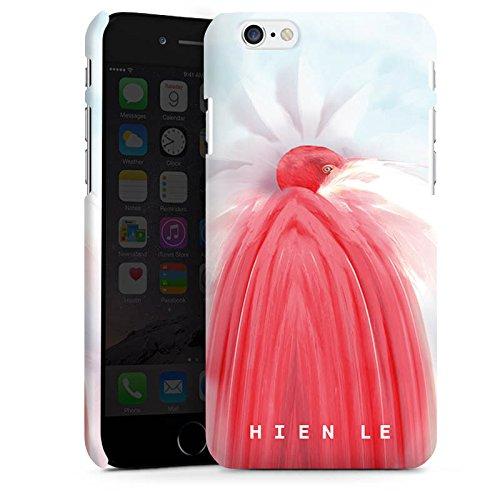 Apple iPhone X Silikon Hülle Case Schutzhülle HIEN LE Fashionweek Vogel Premium Case matt