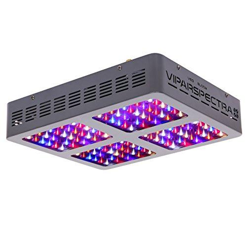 VIPARSPECTRA Reflector 600W LED Grow Light LED Pflanzenlampe Full Spectrum wachsen für Zimmerpflanzen Gemüse und Blumen -