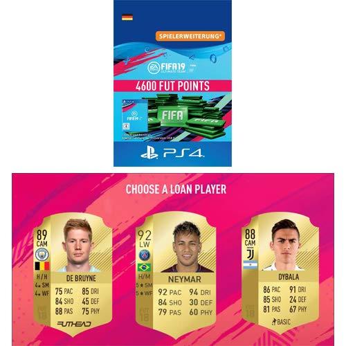 FIFA 19 Ultimate Team - 4600 FIFA Points   PS4 Download Code - deutsches Konto + GRATIS LOAN PLAYER