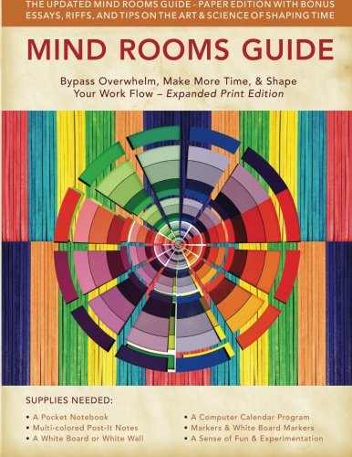 Mind Rooms Guide: Bypass Overwhelm, Make More Time, & Shape Your Work Flow (Expanded Print Edition)