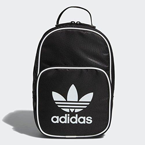 adidas Originals Santiago Lunch, Unisex, Tasche, Originals Santiago Lunch Bags, schwarz/weiß, Einheitsgröße