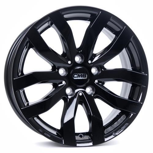 CMS C22 Complete Black Gloss C22 706 52 98S CBG 7x16 ET 52 5x112 MZ 66.50