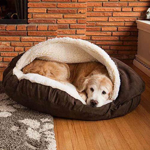 DEEN Cama de Invierno cálida para Mascotas
