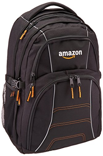 AmazonGear - Mochila para ordenador portátil de hasta 17 pulgadas, negro