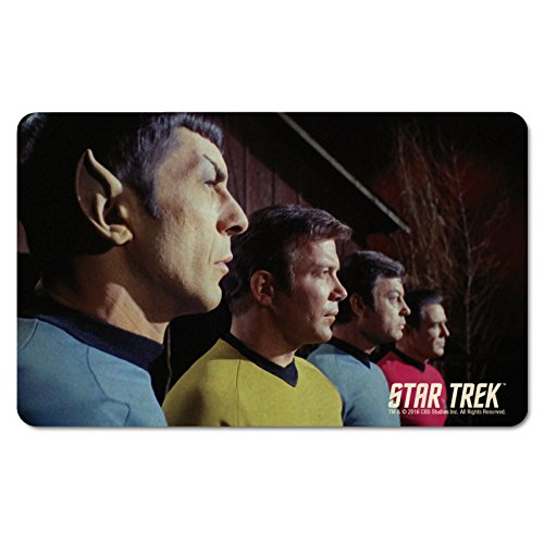 Star Trek - Frühstücksbrettchen - Kirk & Captain Spock - McCoy & Scotty - The Original Series