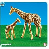 Playmobil Giraffe with Baby