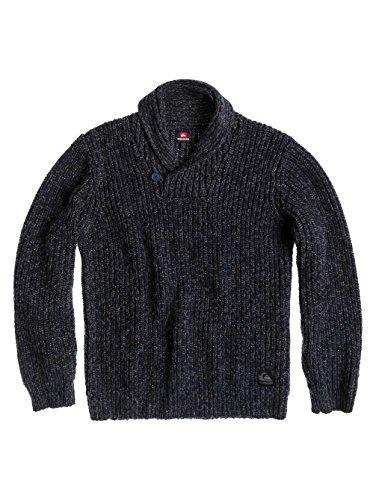 Quiksilver - Maglione da uomo Malecite, Blu (Navy), XL