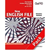 [(New English File: Elementary: Workbook with Key and Multirom Pack: Six-Level General English Course for Adults)] [Author: Clive Oxenden] published on (January, 2007)