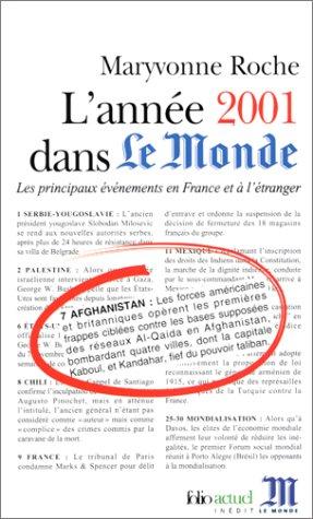 L'Année 2001 dans