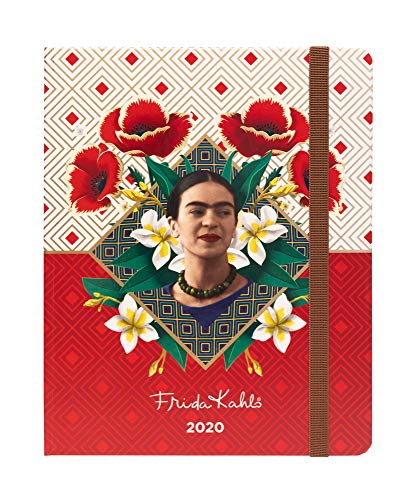 Agenda 2019/2020 semana vista Premium 17 meses Frida Kahlo