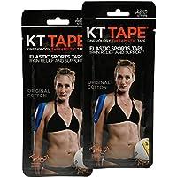 KT Tape Streifen aus Baumwolle, vorgeschnittene 25,4cm (10 Zoll) Streifen preisvergleich bei billige-tabletten.eu