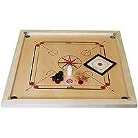 Garden Games - 215 - Jeu de Stratégie - Carrom Set - 84 x 84 cm-  Mango bois
