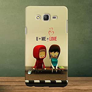 Krazzy Kollections U & Me Designer Back Case Cover for Samsung Galaxy ON7
