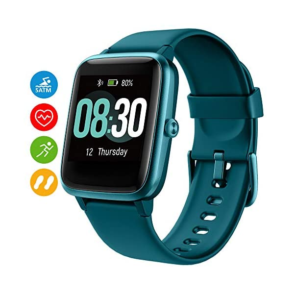 UMIDIGI Reloj Inteligente con Oxímetro (SpO2) Smartwatch con Monitoreo de Frecuencia Cardíaca para Hombre Reloj… 1