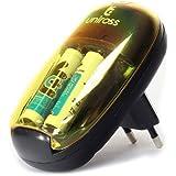 Uniross - Chargeur batteries 1,2V AA/AAA + 2 accus LR03/AAA - 700mAh