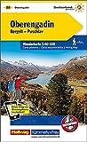 Oberengadin, Bergell, Puschlav: Nr. 28, Wanderkarte, Massstab 1:60000, waterproof, Freemap on Smartphone included (Kümm
