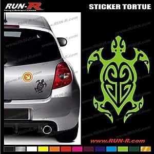 ADNAuto 05833 Autocollants 1 Sticker Tortue Tribal