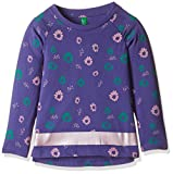 #5: United Colors of Benetton Baby Girls' Blouse (16A3096C0084IK311Y_Ink Blue_1Y)