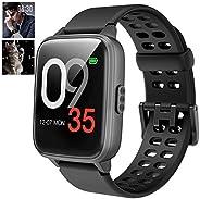 Smartwatch Cronometro Orologio Fitness Donna Uomo, Smart Watch GPS Fitness Tracker Impermeabile IP68 Cardiofre