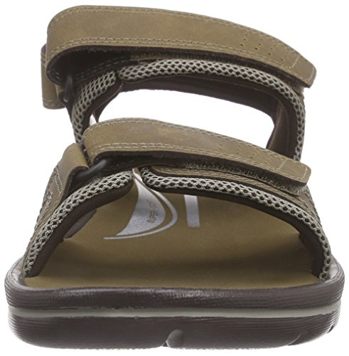 Rockport Get Your Kicks Sandals Quarter Strap Herren Knöchelriemchen Braun (Tan)