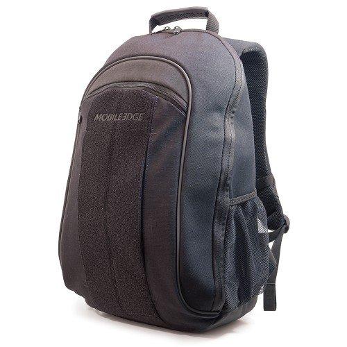 Herren-mobile Edge (Mobile Edge Black 17,3 Zoll Laptop, Mac, umweltfreundlicher Rucksack, Baumwoll-Canvas, für Herren, Frauen, Business, Studenten MECBP1)