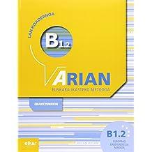 Arian B1.2 Lan-koadernoa (+erantzunak)