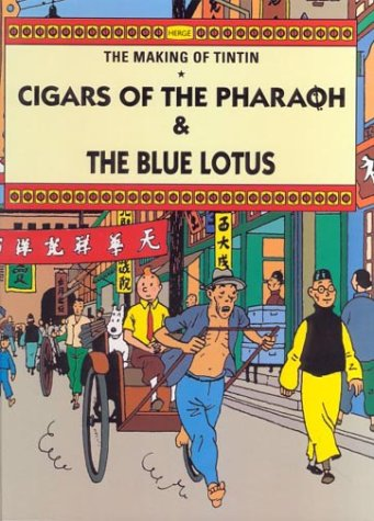Cigars of the pharaoh ; The blue lotus | TheBookSeekers