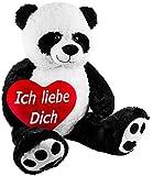 XXL Panda mit Herz 100cm