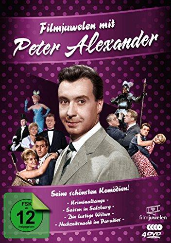Peter Alexander - Filmjuwelen - Seine schönsten Komödien! [4 DVDs]