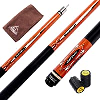 CUESOUL 57 Zoll Queue mit 13mm Cue Tipps