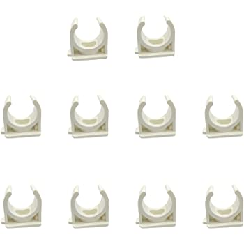 Sinmova 10PCS 40mm PPR U Type Pipe Clamps Tubing Clips Conduit Fittings For Water Supply