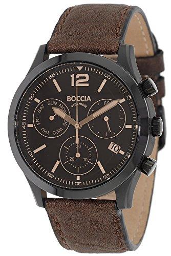 Boccia Titan Herren-Chronograph 3757-02