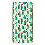 iPhone 7 PLUS Handyhülle Schutzhülle Hülle Silikon Cover Case 5.5 Ultradünn Ultra Slim TPU (Kaktus)