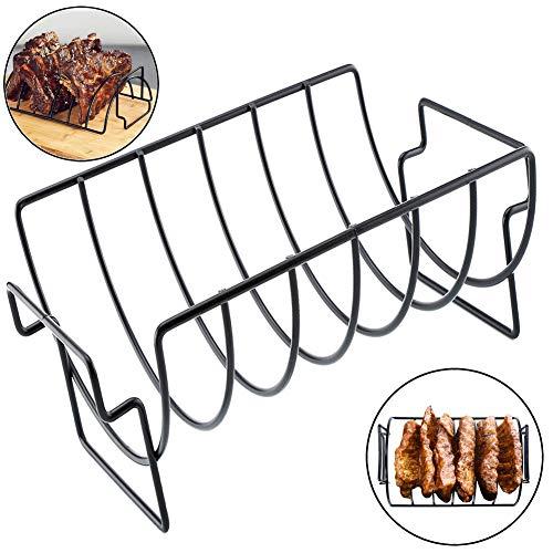 omufipw BBQ Rib Rack Braten Steak V