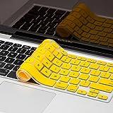 "Yellow MacBook Keyboard Skin Cover Apple MacBook Pro 13"" 15"" 17""/Air 13""/Retina 13"" 15"