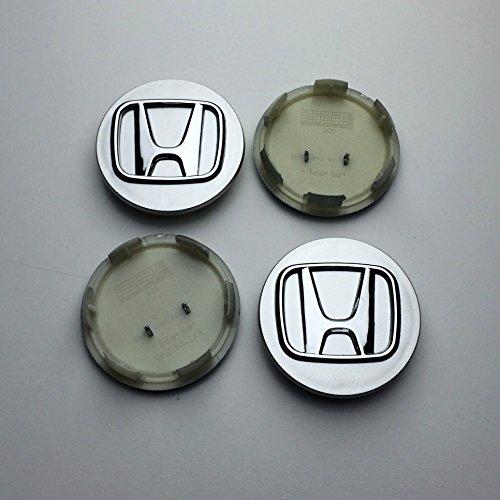 juego-de-chapas-de-4honda-70mm-aleacin-rueda-center-hub-caps-plata-cromo-accord-civic-cr-v