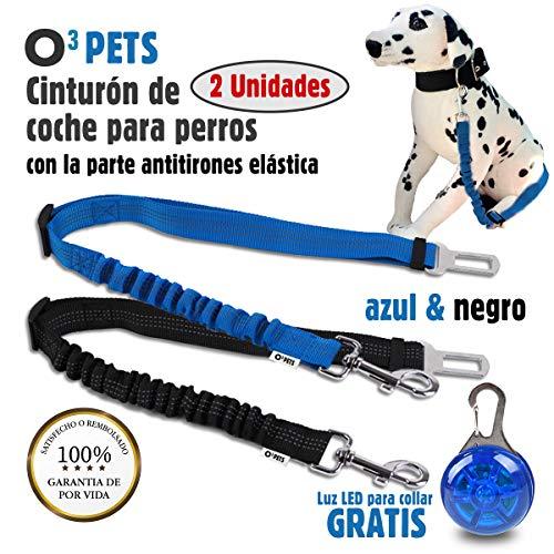 O³ PETS Cinturon Perro Coche Homologado 2 Unidades
