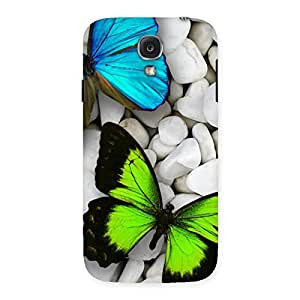 Special Premier Butterflies Multicolor Back Case Cover for Samsung Galaxy S4