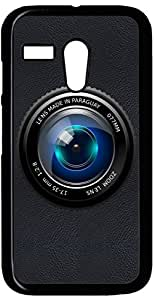 Dot Print Back Cover For Moto G Camera Lens PRINTED CASE