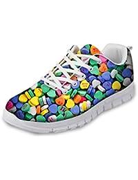 Suchergebnis auf für: BUNTE Synthetik Sneaker