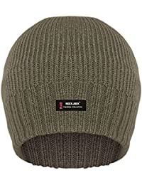 RIBBED BEANIE HAT WITH R40 ADVANCED THERMAL INSULATION FOR MEN