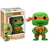 POP! Vinyl 3345 - Figura con cabeza móvil Michelangelo, Tortugas Ninja (3345) - Figura Head Michelangelo (10cm)
